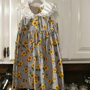 Other - Vintage Handmade Sunflower Dress